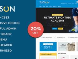 Tucson – Sports, Fitness and Gym Responsive WooCommerce WordPress Theme