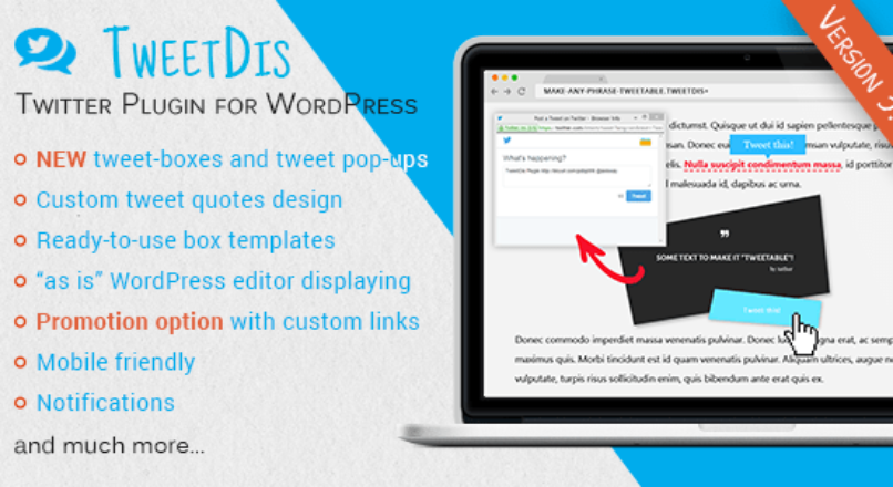 TweetDis – Make Any Phrase Tweetable