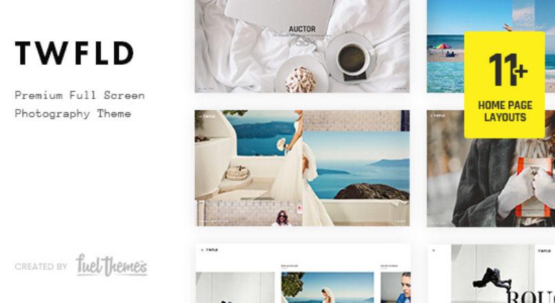 TwoFold – Fullscreen Photography WordPress Theme