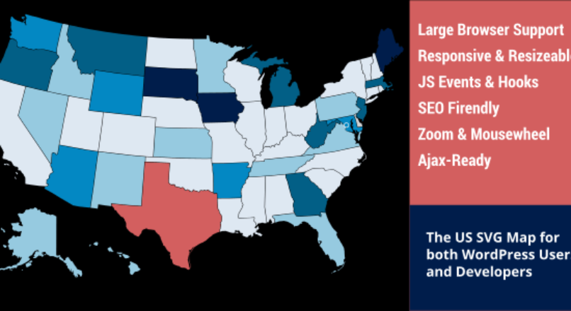 US Clickable SVG Map