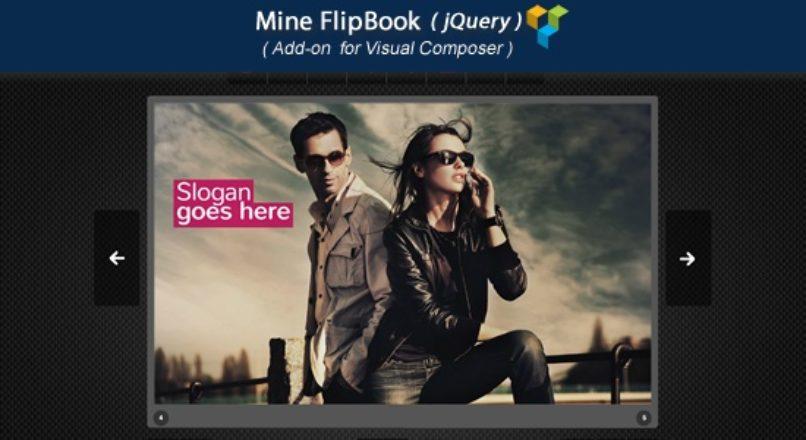 Visual Composer Add-on – Mine jQuery FlipBook