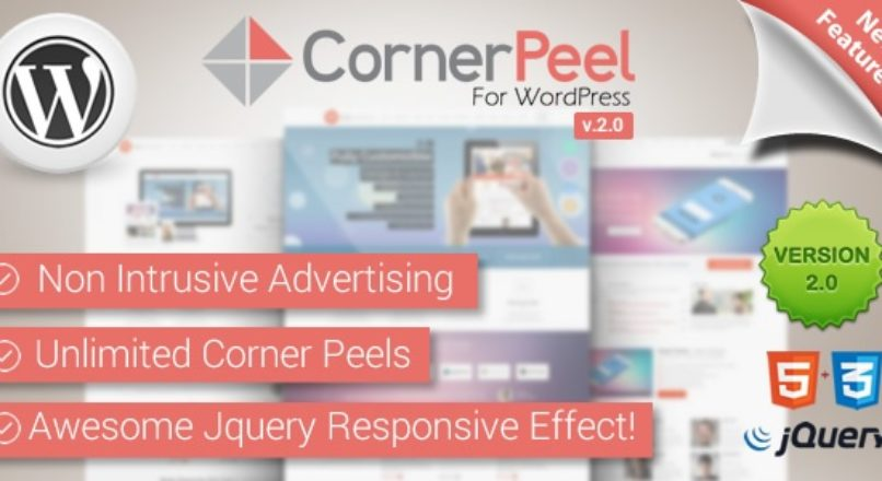 WordPress Corner Peel Plugin