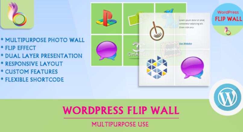 WordPress Flip Wall – Multipurpose Use