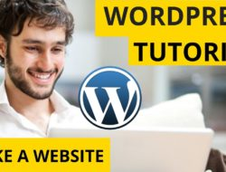 WordPress Tutorial: How to Make a Website – Simple & Easy!