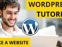 WordPress Tutorial: How to Make a Website – Simple & Easy!
