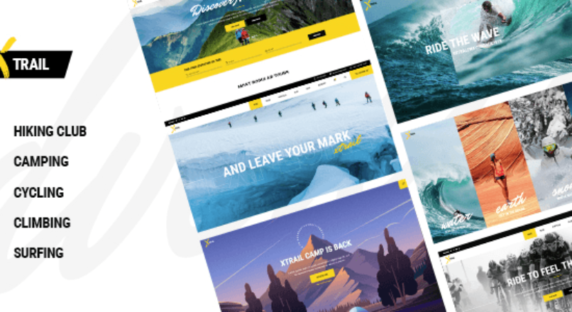 Xtrail – Extreme Sports and Outdoors Theme
