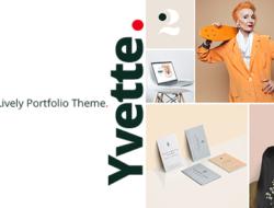 Yvette – Portfolio Theme for Creatives