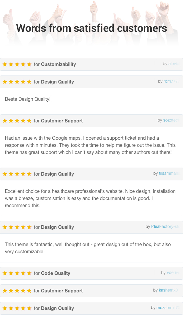 Physio WordPress Theme Reviews