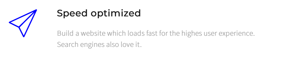 Speed optimize