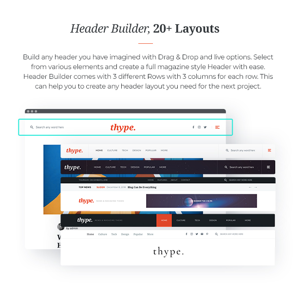 Thype | Multi-Concept Blog & Magazine WordPress Theme - 7