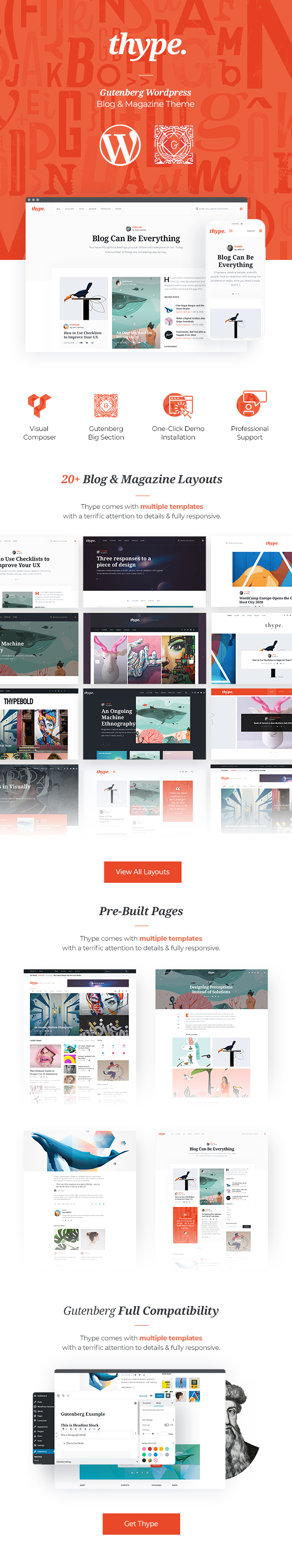 Thype | Multi-Concept Blog & Magazine WordPress Theme - 2