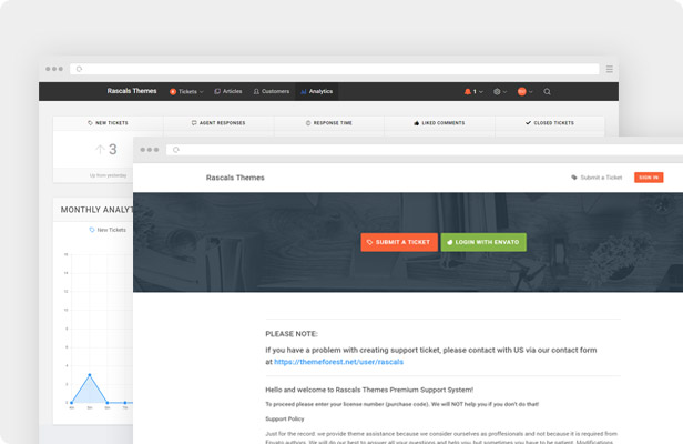 Pendulum WordPress Theme - Support