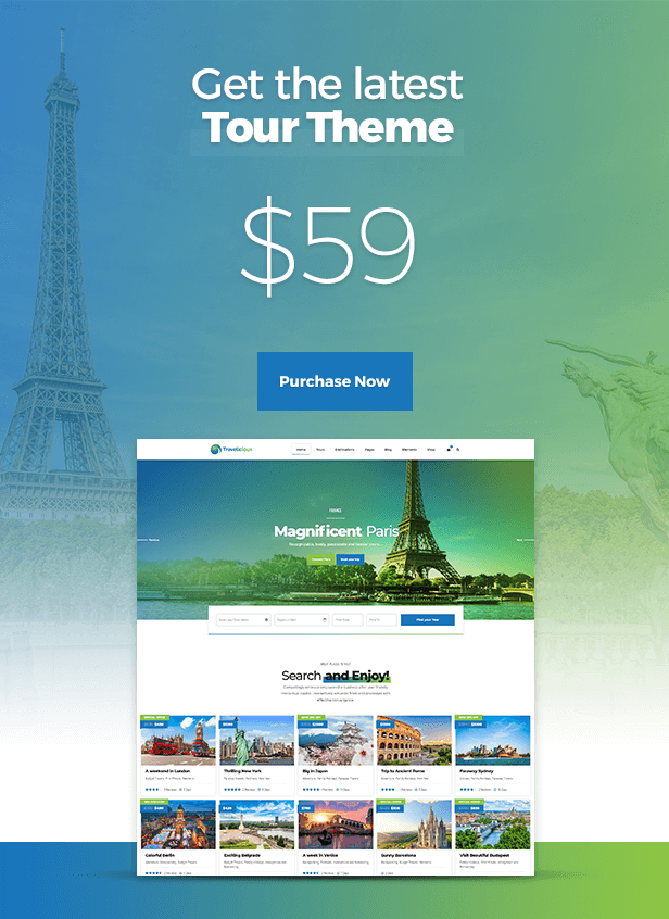 Travelicious - Tour Operator Theme - 14