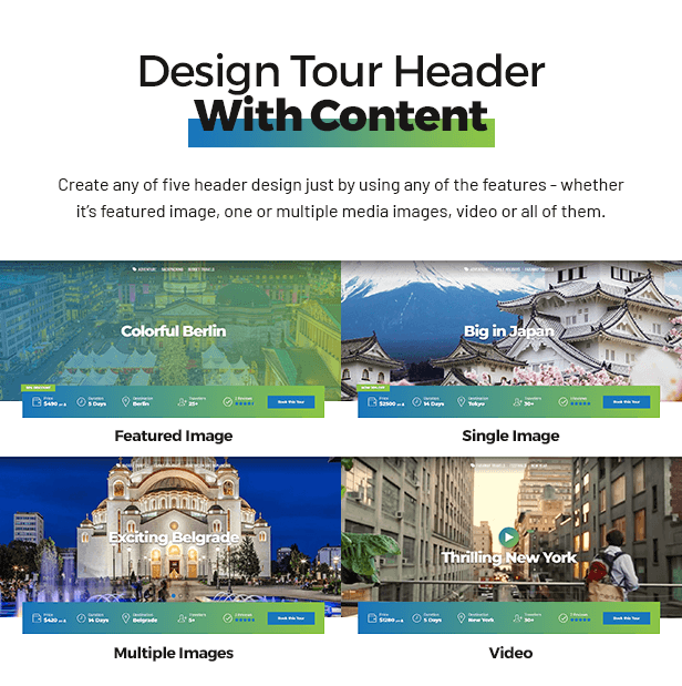 Travelicious - Tour Operator Theme - 2