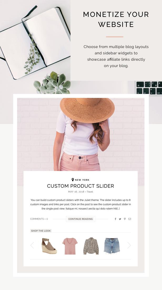 Juliet - A Blog & Shop Theme for WordPress - 2