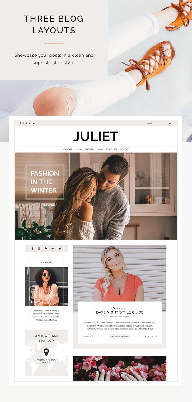 Juliet - A Blog & Shop Theme for WordPress - 4