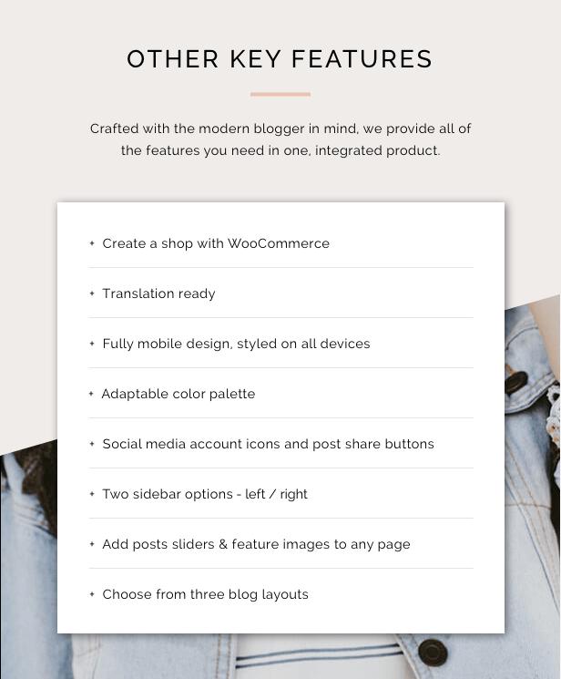 Juliet - A Blog & Shop Theme for WordPress - 5