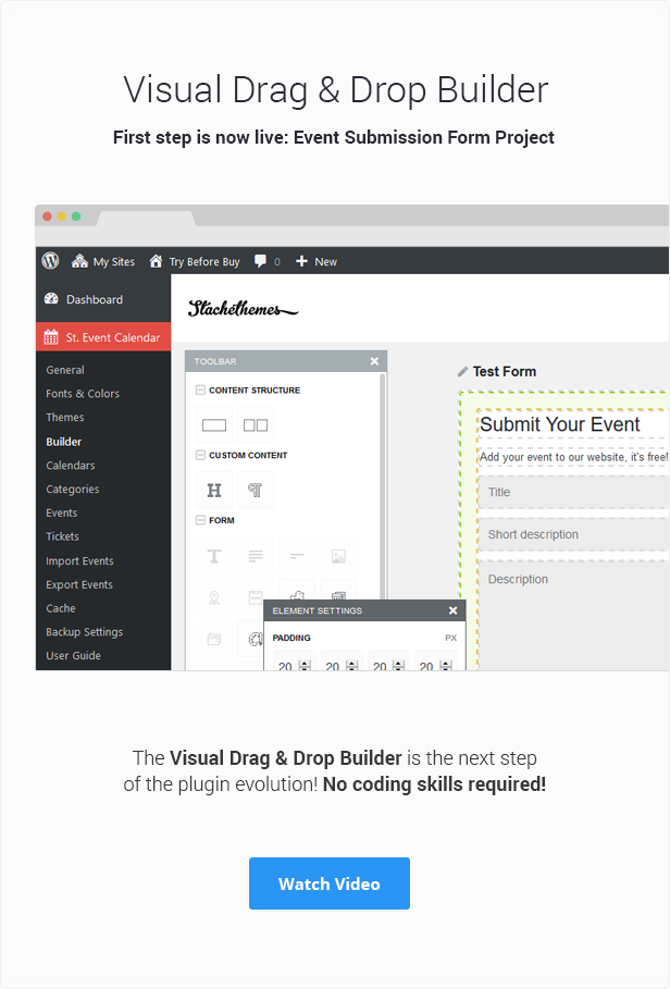 Stachethemes Event Calendar - WordPress Events Calendar Plugin - 7