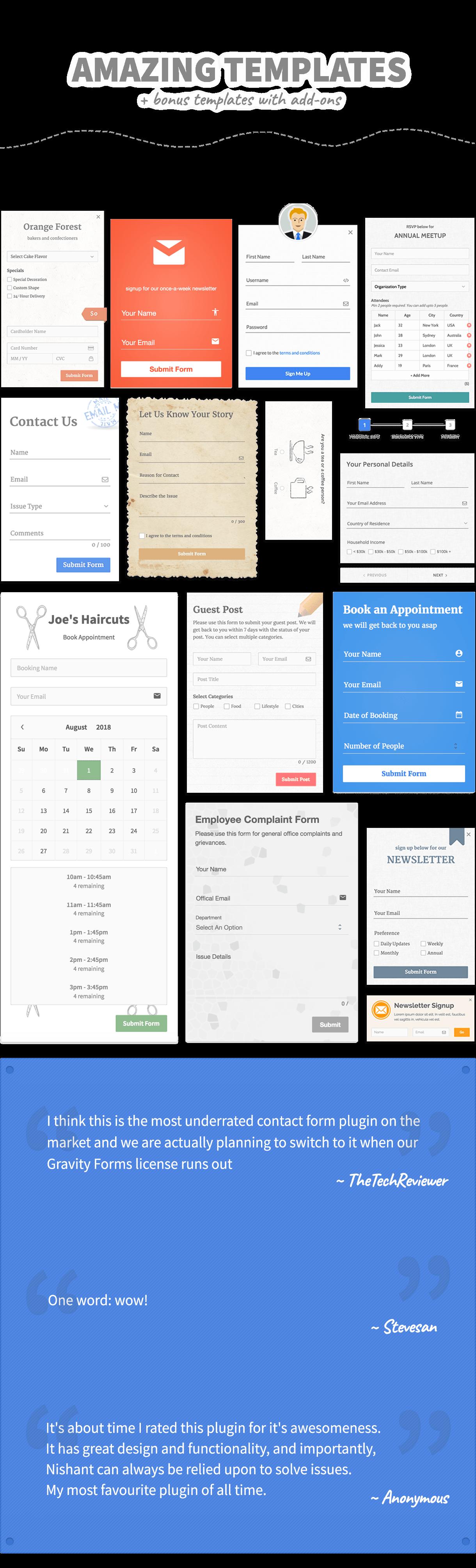 FormCraft - Premium WordPress Form Builder - 6