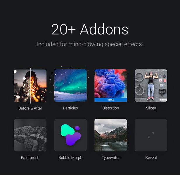20+ Addons