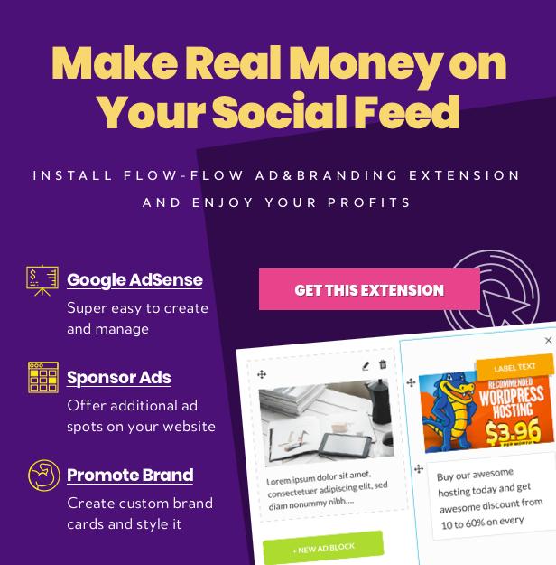WordPress Social Stream Branding Extension