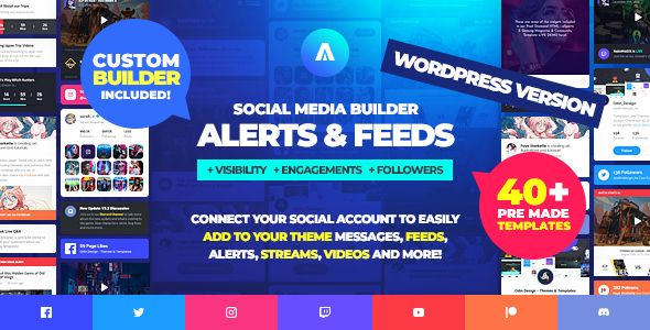 Asgard - Multipurpose Messages and Social Builder Plugin - 7