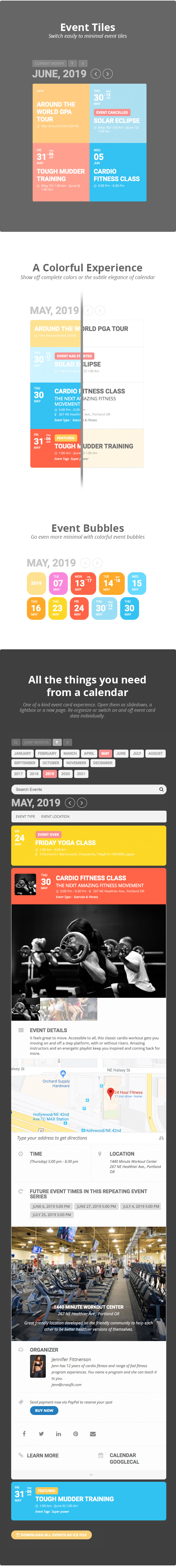 EventOn - WordPress Event Calendar Plugin - 4