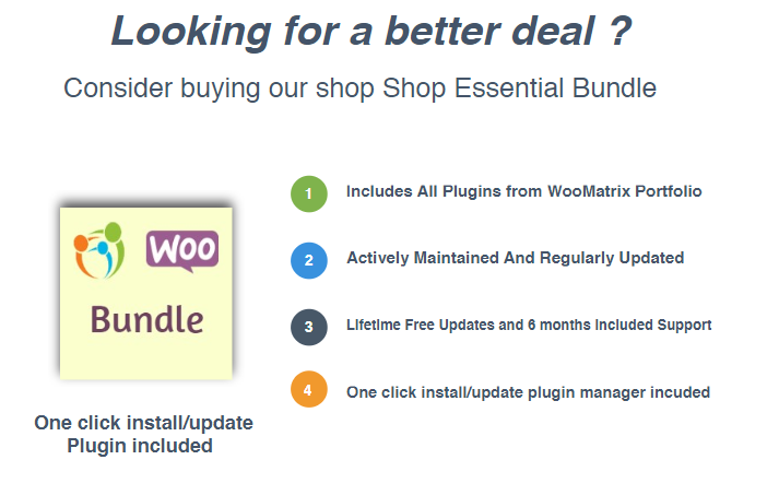 WooCommerce Shop Essential Bundle