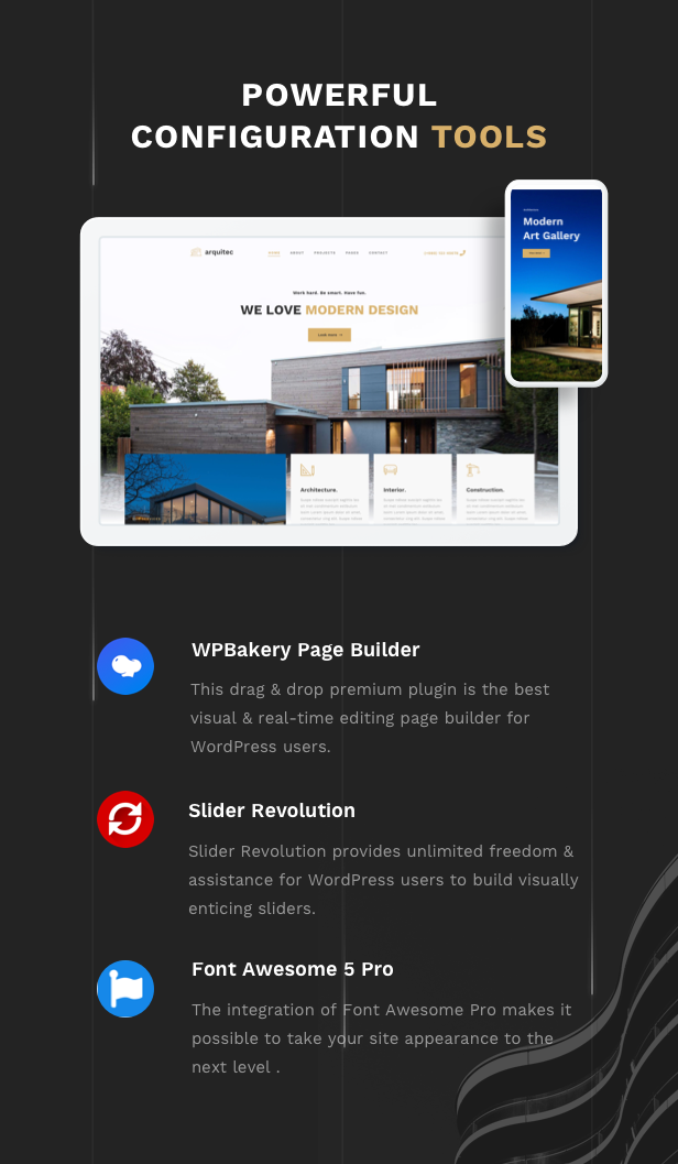 Arquitec - Architecture and Construction WordPress Theme - 7