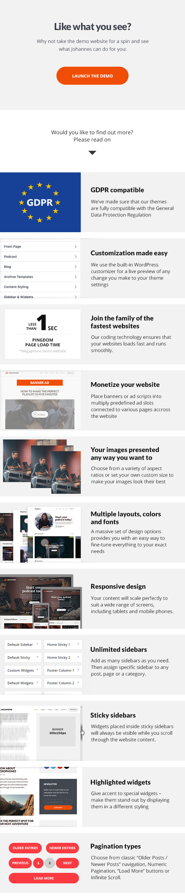 Megaphone WordPress Theme