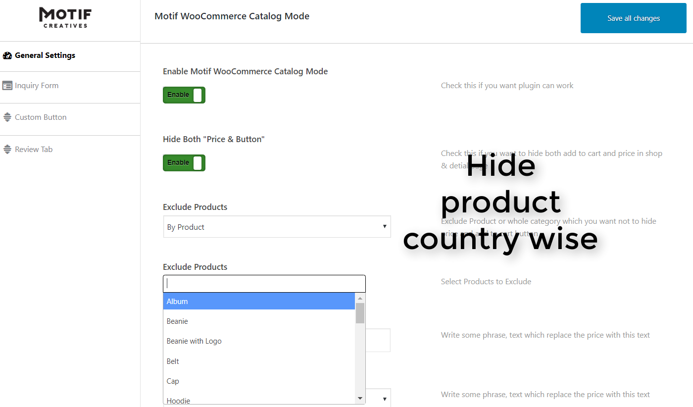 WooCommerce Hide Price, Hide Add to Cart Plugin