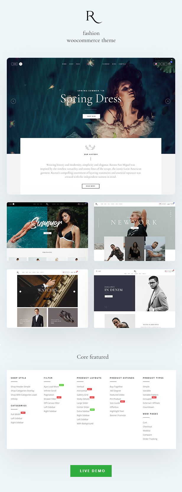 Rion WooCommerce WordPress Theme