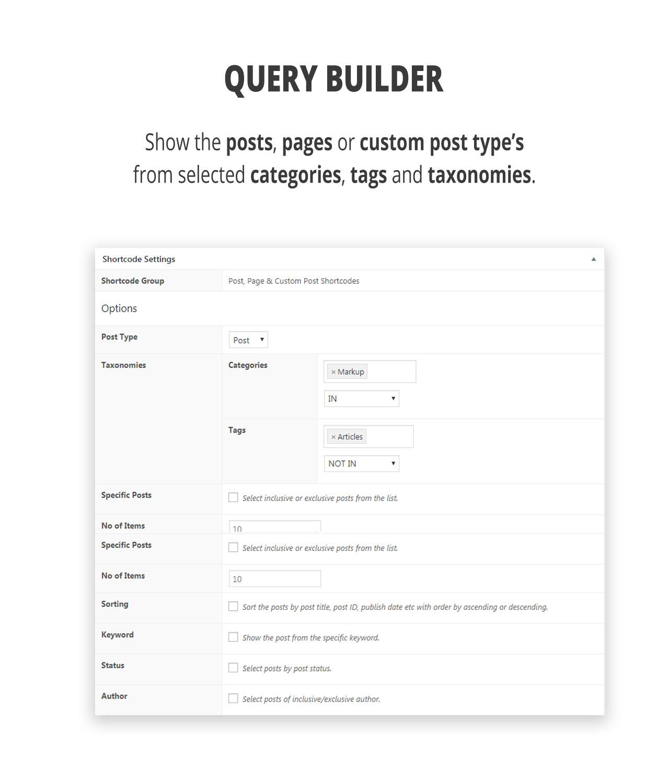 ShortcodeHub – MultiPurpose Shortcode Builder - 1