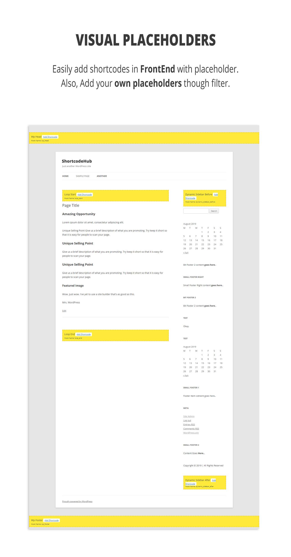 ShortcodeHub – MultiPurpose Shortcode Builder - 2