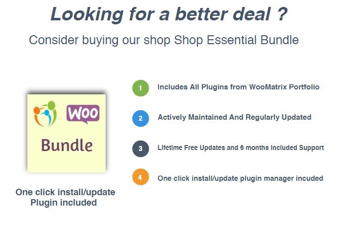 WooCommerce Shop Essential Bundle