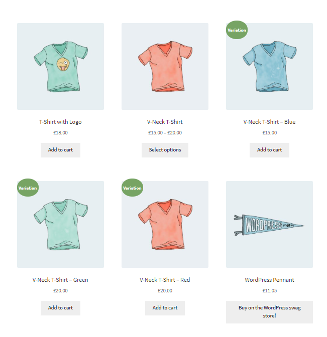 WooCommerce Show Single Variations
