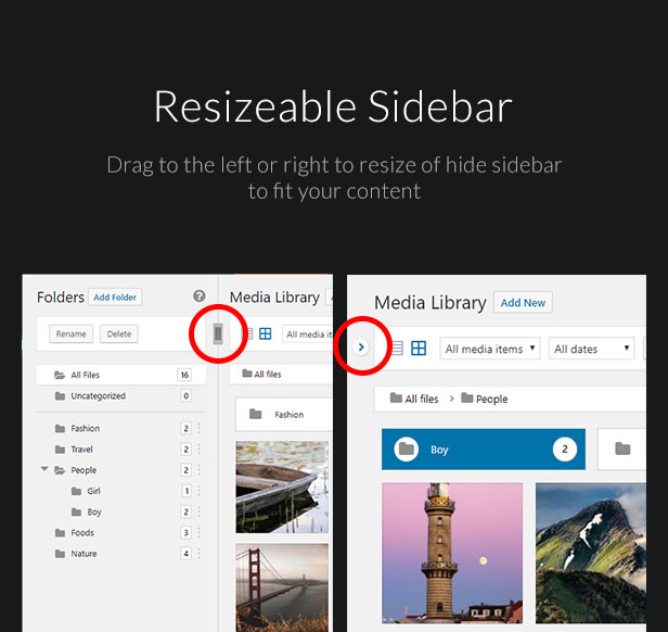 Ultimate Media Library Folders for WordPress - FileBase - 6