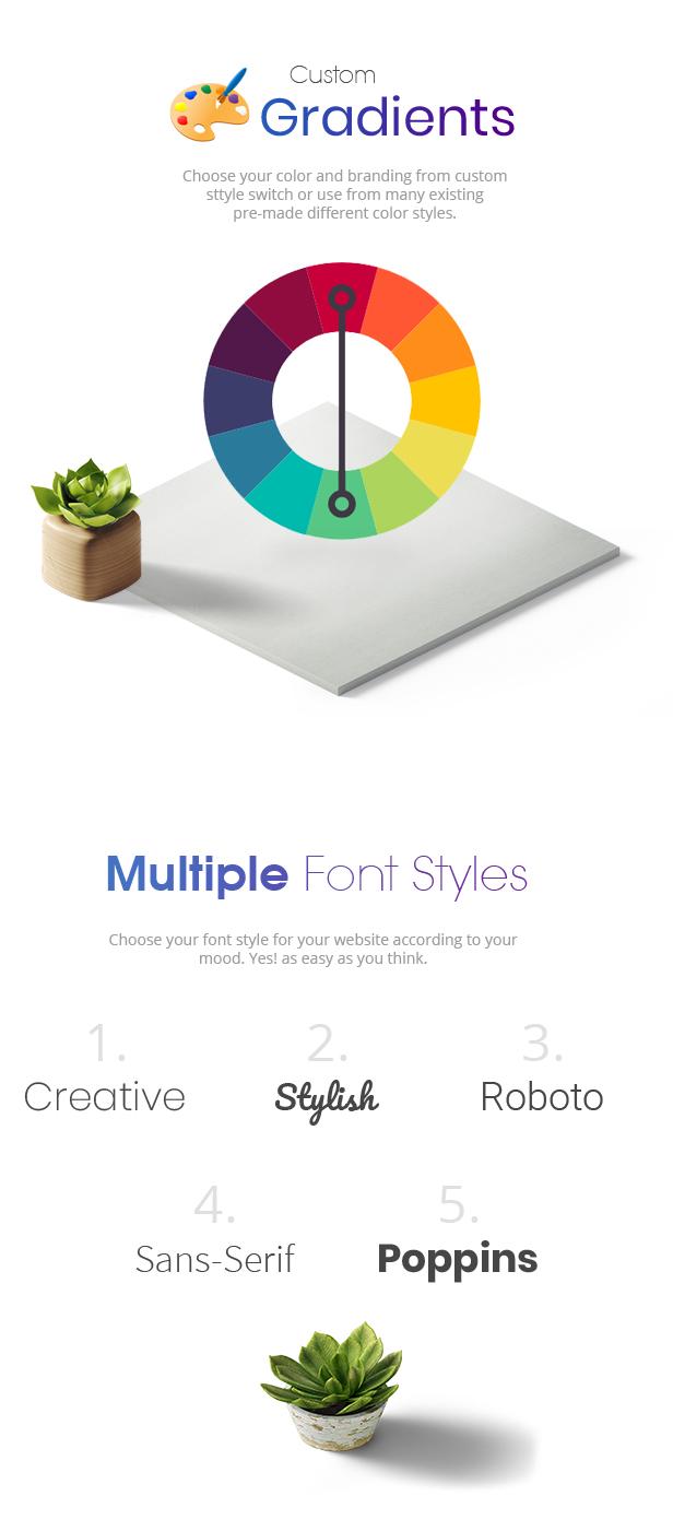 Wexim - Creative WordPress Theme - 6