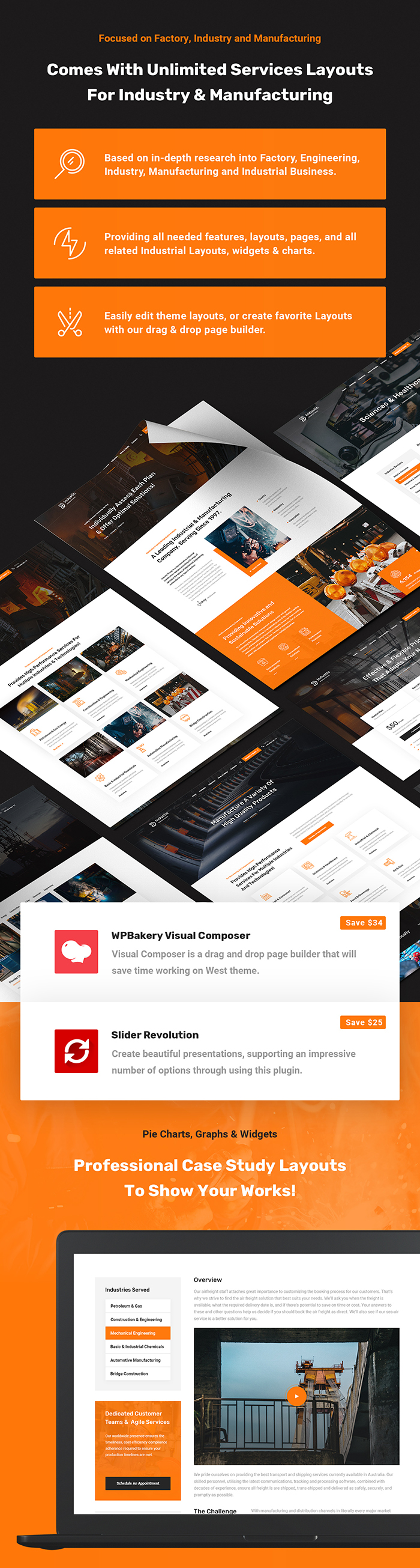 Industic - Factory and Manufacturing WordPress Theme - 3