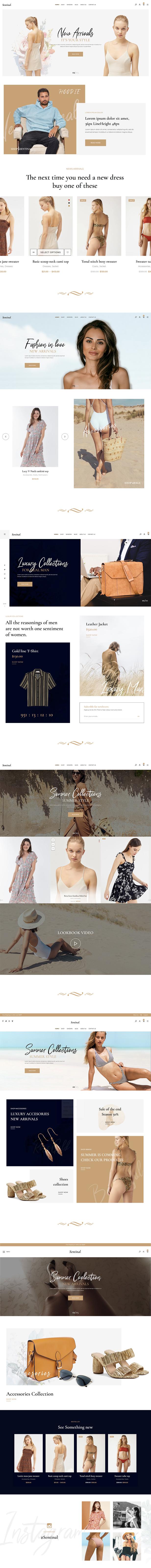 Sentinal - Fashion Modern Shop WooCommerce Theme - 4