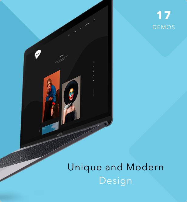 Naida | Showcase Portfolio WordPress Theme - 5