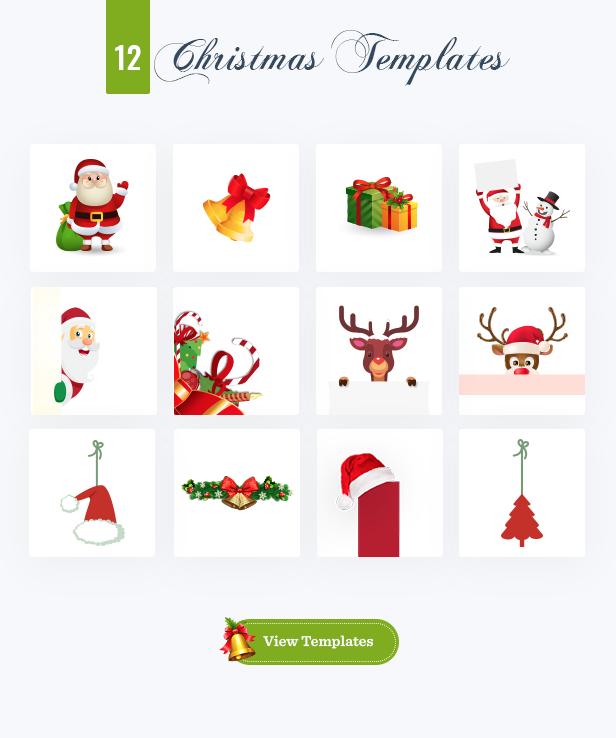 Apex Notification Bar - Christmas Templates