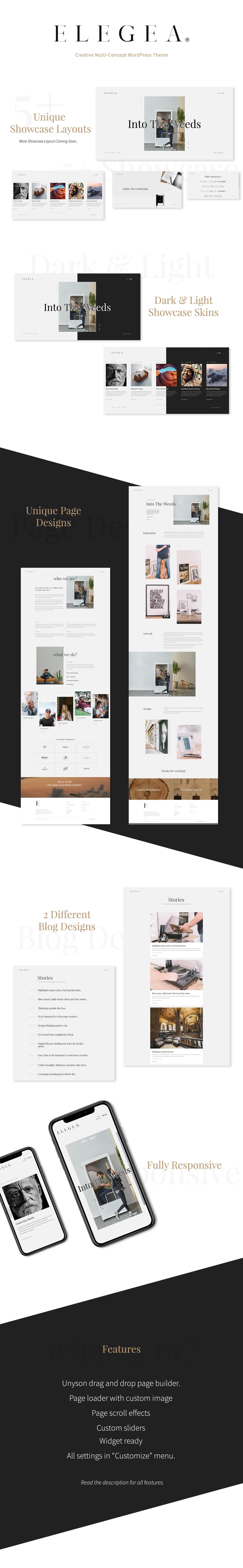 Elegea - Multi-Concept WordPress Theme - 1