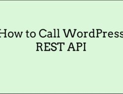 How to Call WordPress REST API