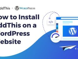 How to Install AddThis on a WordPress Website