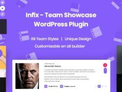 InfixTeam – Team Showcase WordPress Plugin