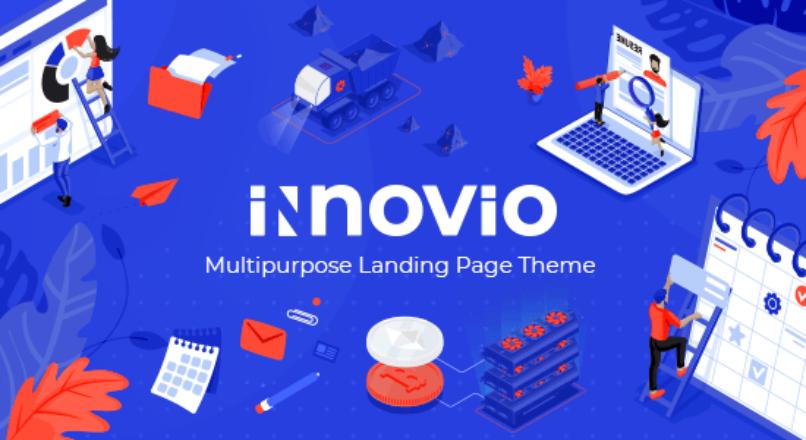 Innovio – Multipurpose Landing Page Theme