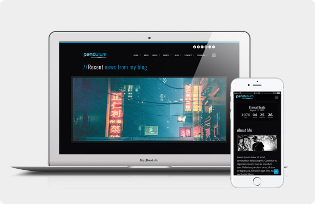 Pendulum WordPress Theme - Live Preview