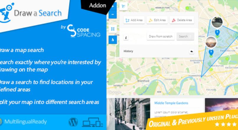 Progress Map, Draw a Search – WordPress Plugin