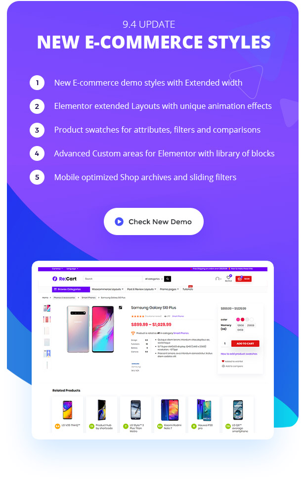 best woocommerce Elementor theme wordpress
